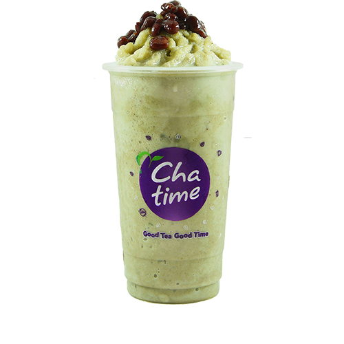 Matcha Red Bean Smoothie