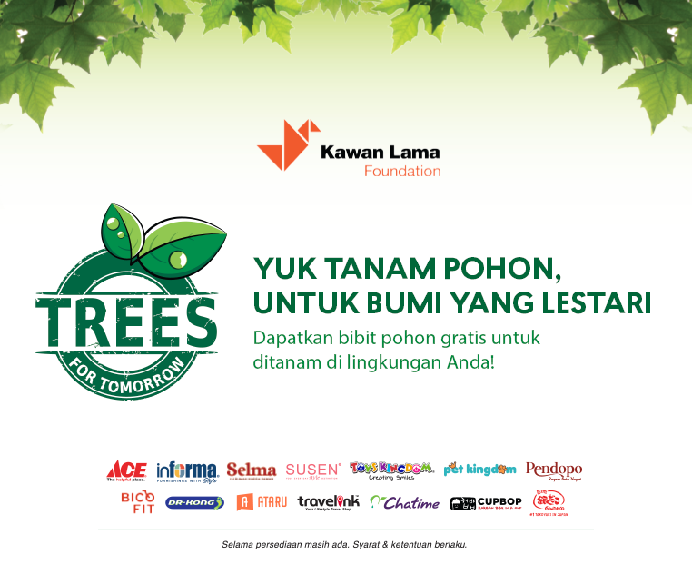 Trees For Tomorrow - Chatime Indonesia